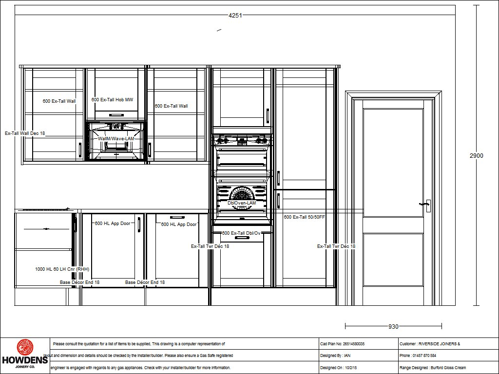 New Kitchen Project In Saddleworth Mossley Road Curve Build