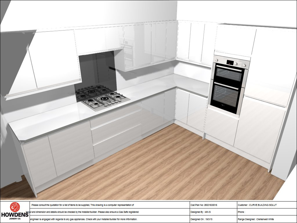 New kitchen project in Shaw - Woodford Avenue, Shaw - Curve Build